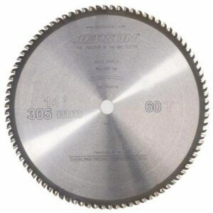 Jepson 600530 TCT Saw Blade 300mm x 60T Steel Dry Cutting