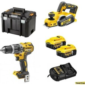 Dewalt DCD796 Brushless Drill & DCP580 Planer 2 x5amp DCD796DCP5802pk