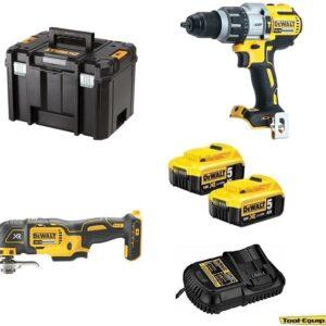 DeWALT DCD996 Heavy Duty Drill Driver & DCS355 Multi-tool 2 x5amp DCD996DCS3552PK