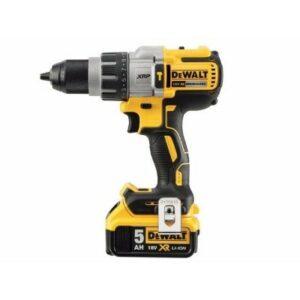 DeWALT DCD996P2-GB XR Brushless Drill 18volt 3 speed 2x5amp battery