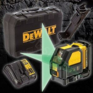 DeWALT DCE088D1G-XJ 10.8v Green Cross Line Level 1x2amp Battery & Charger