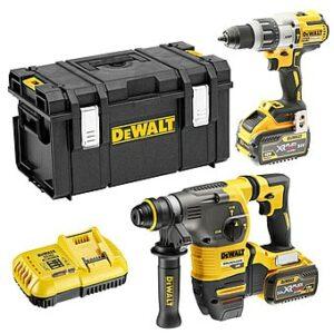 DeWALT DCK2033X2-GB 54/18v SDS Hammer Drill & Cordless Drill Twin Pack