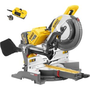 DeWALT DHS780 Mitre Chop Saw 54/18volt 305mm (220volt lead) No Batteries DHS780N220v