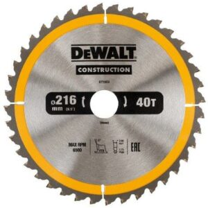 DeWALT DT1953-QZ 216x30mm 40teeth TCT Chop Saw Blade