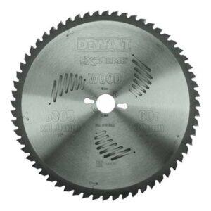 DeWALT DT4331-QZ TCT Chop Saw Blade for Wood 305x30mm 60 tooth