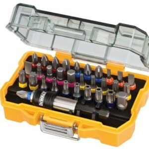 DeWALT DT7969-QZ 32piece Screwdriver Bits Set with belt clip case