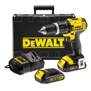 DeWALT DCD785C2-GB Drill Driver 18volt 2 x 2amp batteries in case