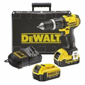 DeWALT DCD785M2-GB Drill Driver 18volt 2x4amp Batteries plus Case
