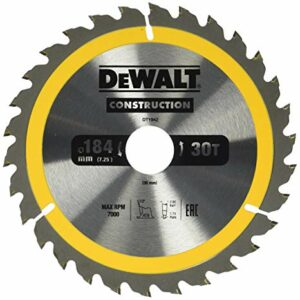 DeWALT DT1942-QZ TCT Saw Blade 184x30mm 30teeth