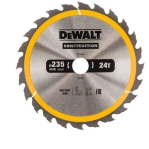 DeWALT DT1954-QZ 235x30mm 24teeth TCT Saw Blade