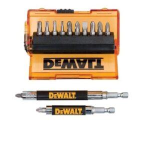 DeWALT DT71502-QZ Screwdriver Bits Set 14pce with Adaptor