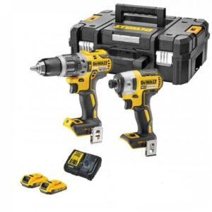 DeWALT DCK266D2GB 18volt Twin G2 Drill and 3 Speed Impact 2 x 2amp