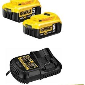 DeWALT DCB1842PK Batteries & Charger pack 2 x 18volt 5amp