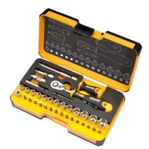 Felo 05783616 36pc 1/4 drive Socket Set