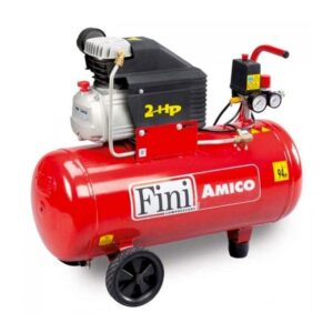 Fini AMICO50SF250220V Air Compressor 2hp 50 litre on wheels 6.5cfm
