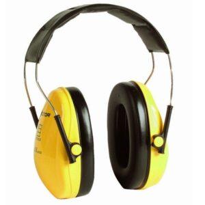 Peltor H510A Ear Defenders Yellow SNR27db