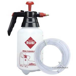 Rubi 50947 Water Bottle Tank and Hose for Multi Drill Diamond bits