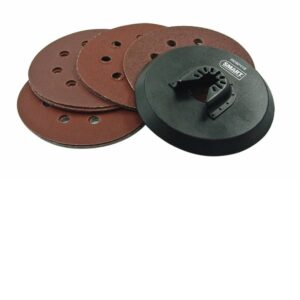 Smart SM-HSC115K 115mm Round Multimaster Sanding Pad with 15discs