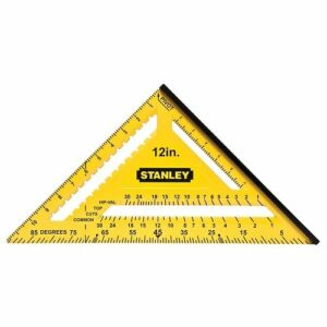Stanley STA46011 300mm Quick Square Yellow