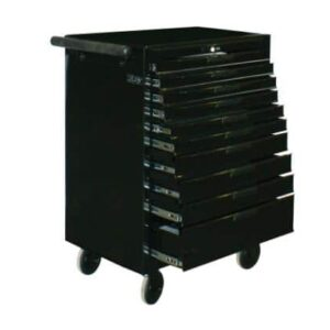 Teng TCW810NBK Tool Chest 10 Drawer Roller Cabinet Black