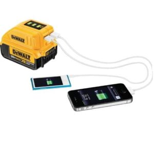 DeWALT DCB090-XJ USB Mobile Charger for use with Li-ion XR Battery
