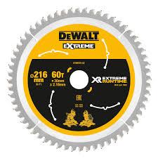 DeWALT DT99570-QZ 216x30x60teeth Flex Volt Chop Saw Blade
