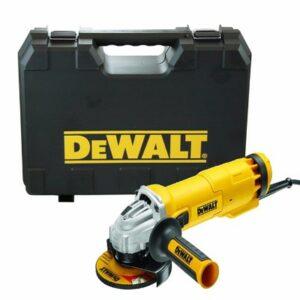 DeWALT DWE4206K-GB Angle Grinder 220v 115mm 1000watt in plastic case