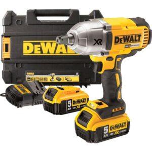 DeWALT DCF899P2-GB Impact Wrench 18volt 1/2drive 2x5amp batteries