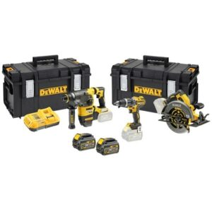 DeWALT DCK357T2-GB 54/18volt 3 Tool Kit SDS, Drill, Circular Saw