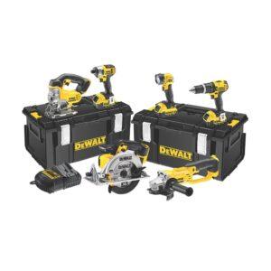 DeWALT DCK691M3-GB Power Tool Kit 18V 6pc 3x4amp Li-ion batteries