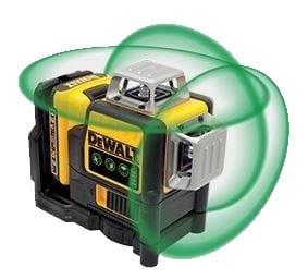 DeWALT DCE089D1G-GB 10.8v Green Multi Line Laser Level 1x2amp battery & charger