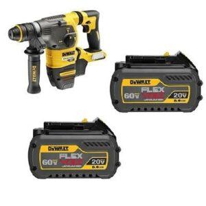 DeWALT DCH334T2-GB SDS Hammer Drill Quick Change Chuck 54/18volt 2x6amp