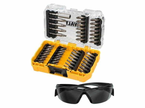 DeWALT DT70703-QZ Screwdriver Bits Set with Sunglasses 47piece