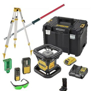 DeWALT DCE079D1G-GB Rotating Laser Level 18volt plus Detector Remote