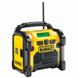 DeWALT DCR021-GB Digital Radio 10.8V 14.4V 18V
