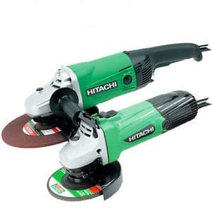 Hitachi HITTWINSSL Angle Grinder Twin pack 110volt Small & Large Angle Grinder Twin pack