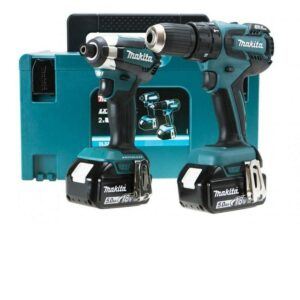 Makita DLX2173TJ 18volt Brushless Twin Pack DHP459 DTD153 5amps