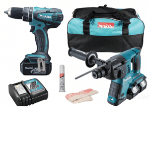 SDS Hammer Drill and Combi Drill in Bag