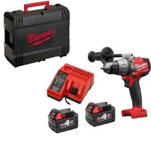 Milwaukee M18FPD-402X Heavy Duty Drill Fuel 18volt 2x4amp batteries