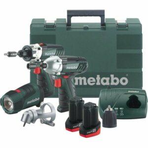 Metabo MAX12COMBIKIT 10.8V Impact Drill Max 12 Angle Chuck 2 x 1.5 Li-ion batteries