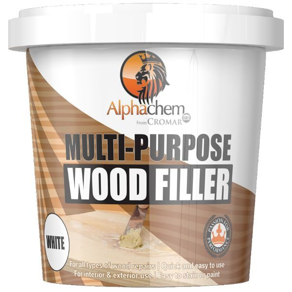 Alphachem X6WFILLWE 500ml Light Stainable Wood Fillers 1 Pack