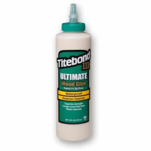 Titebond III 301414 Wood Glue Green Bottle Interior Exterior 16oz