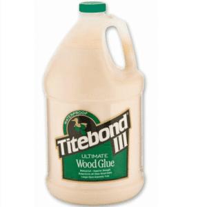 Titebond 301416 Wood Glue Blue Bottle Gallon Interior Exterior