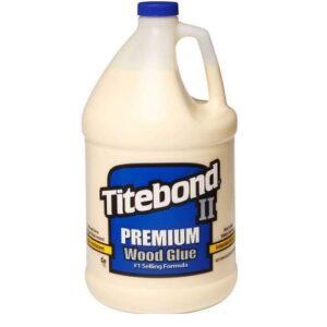 Titebond II 600209 Wood Glue Blue Bottle Gallon Interior Exterior
