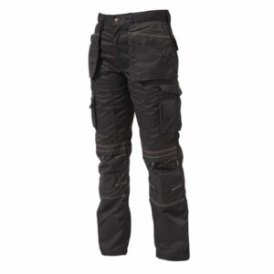 Apache Black Trade Holster Trousers with Hanging Pockets Lightweight APAHTB