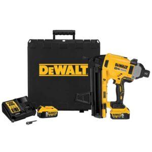 DeWALT DCN890P2-GB 18volt Concrete Nail Gun 2x5amp Batteries & Charger