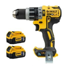 DeWALT DCD797P2BGB Drill Tool Connect 2x5amp Bluetooth batteries