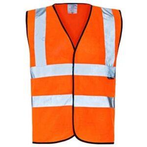 Work-it Orange Hi-Vis Vests C907HVO X-Large