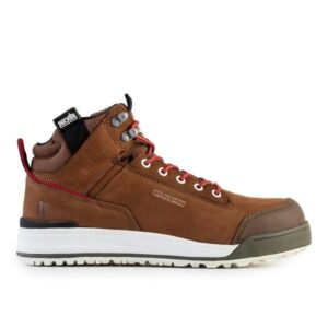Scruffs Switchback Brown Safety Runners Light Weight T534