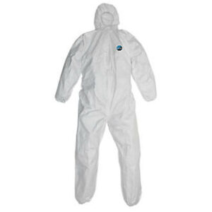 Tyvek Disposable Hooded Strong White Overalls